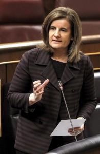La ministra de Empleo, Fátima Báñez. (EFE)