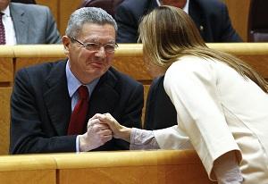 El ministro de Justicia, Alberto Ruiz Gallardón. (EFE)