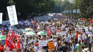 Marea blanca en Madrid