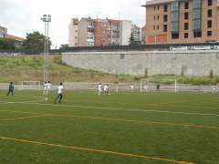 Imagen de un campo de fútbol. (AYUNTAMIENTO DE MADRID)