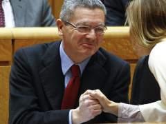 El ministro de Justicia, Alberto Ruiz Gallardón. (Ballesteros/EFE)
