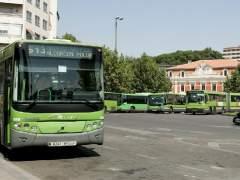 Autobuses interurbanos de Madrid. (JORGE PARÍS)