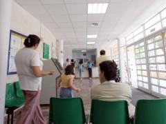 Pacientes en la sala de espera de un ambulatorio. (ARCHIVO)