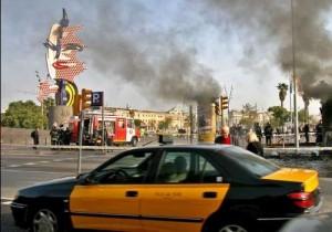 Taxi por Barcelona