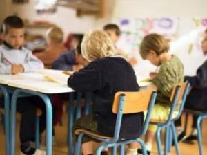 Niños en un aula. (GTRES)