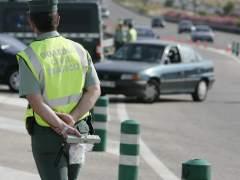 Control de la Guardia Civil. (JORGE PARÍS)