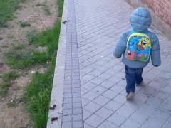 Excrementos de perro de camino al colegio. (LARYSA SHIPKO)