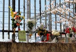 Recuerdo a las víctimas en la calle Téllez (JORGE PARÍS)