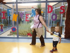 Una escuela infantil de Madrid (BERNARDO DE RODRIGUEZ/EFE)