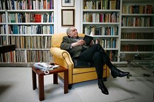 Gabriel García Márquez, en su casa de México. (GTRES)