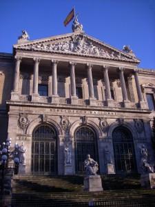 La Biblioteca Nacional de España, en Madrid. (WIKIPEDIA)