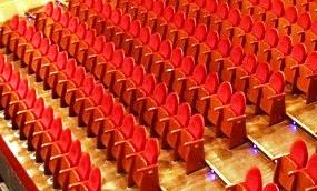 Butacas de un teatro (ARCHIVO)