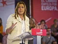 La secretaria general del PSOE de Andalucía y presidente de la Junta, Susana Díaz. (EFE)