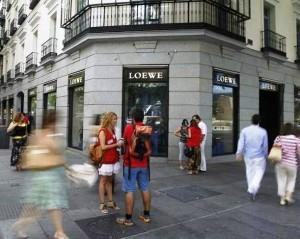 Cruce de las calles Goya y Serrano en Madrid. (ARCHIVO)