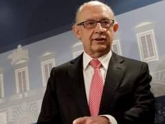 El ministro de Hacienda y Administraciones Públicas, Cristóbal Montoro. (EFE)