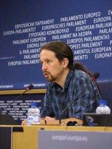 Pablo Iglesias, líder de Podemos. EFE
