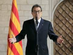 Artur Mas anuncia que Pujol renuncia a sus privilegios. (Andreu Dalmau / EFE)