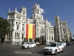 El Palacio de Cibeles, sede del Ayuntamiento de Madrid. (EFE)