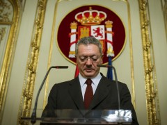 El exministro de Justicia, Alberto Ruiz-Gallardón. (EFE)