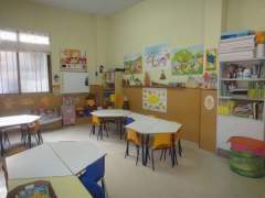 Interior de una escuela infantil. (ARCHIVO)