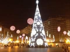Luces navideñas en Valencia el pasado 2013. (20MINUTOS)