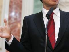 Un político hace un discurso. (ARCHIVO)