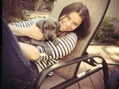 Brittany y su perro Charley. (BRITANNY FUND)