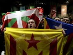 Partidarios de la independencia de Cataluña (ALBERTO ESTÉVEZ/EFE)