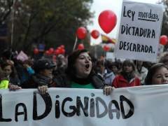 "Manifestantes contra ""La Ley Mordaza"", (D. SIRVENT)"