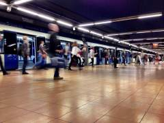 Andén de Metro de Madrid (JORGE PARÍS)