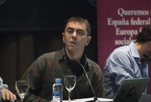 Juan Carlos Monedero, dirigente de Podemos. GTRES