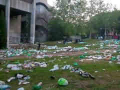Imágenes del campus universitario de la UCM tras San Cemento (MONTSE)