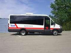 Vehículo de la Cruz Roja para dispensar metadona entre los drogodependientes. (ARCHIVO)