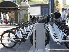 Servicio de alquiler de bicicletas del Ayuntamiento de Madrid (JORGE PARÍS)