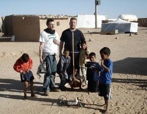 En los campamentos de refugiados saharauis de Tindouf