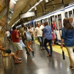 Foto Metro de Madrid. (JORGE PARÍS)