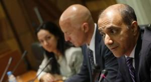Portavoces de la misión del FMI en España