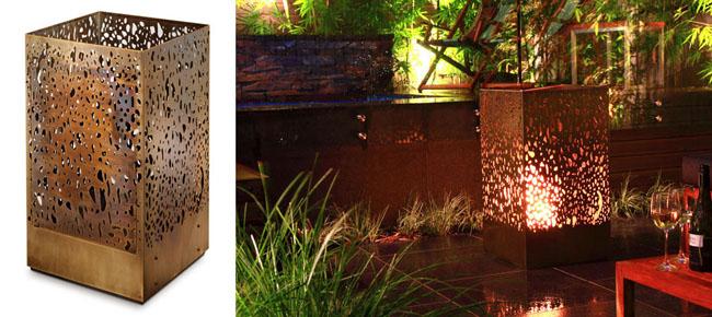 Casi mil formas de iluminar tu terraza balc n o porche for Luces led para terrazas