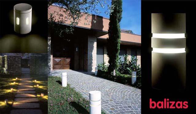 Saca a la luz lo mejor de tu jard n un hogar con mucho for Balizas solares para jardin