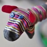Muñecos fabricados a partir de calcetines viejos o desemparejados... ¡Son divertidísimos!