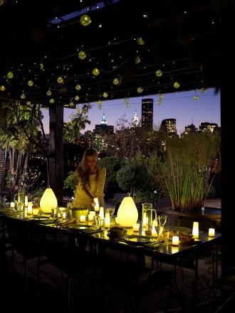 Casi mil) formas de iluminar tu terraza, balcón o porche | Un hogar ...