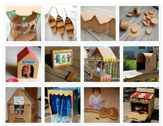 Things to Make with Cardboard Box