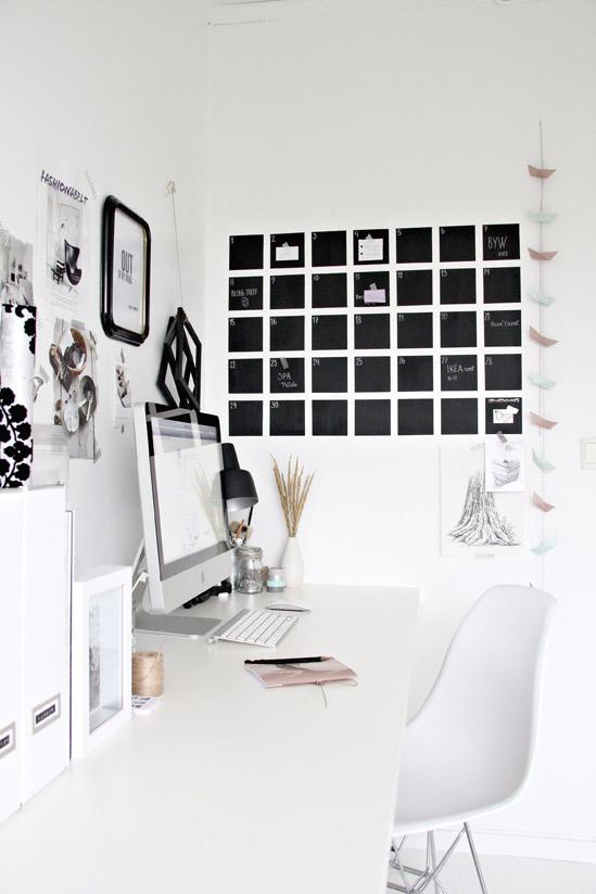 Una oficina elegante, práctica y rematadamente original