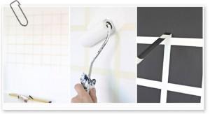 La cinta de carrocero te ayudará a tirar líneas perfectamente rectas