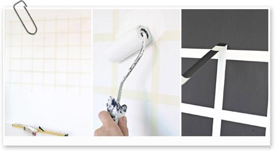 Pizarra un hogar con mucho oficio - Como pintar azulejos a mano ...