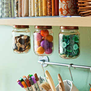 No solo para la cocina: redescubre las baldas de tu habitación, de tu pequeño espacio de manualidades, de tu oficina...