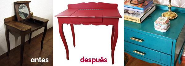 El efecto instagram c mo dar un toque vintage a tus - Pintar muebles estilo vintage ...