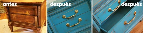 Restauración de muebles con pintura lacada estilo vintage para decorar tu hogar al puro estilo Reparalia