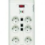 Compra regletas con protección contra sobretensiones para todos tus aparatos eléctricos... ¡Lo agradecerás, créeme!
