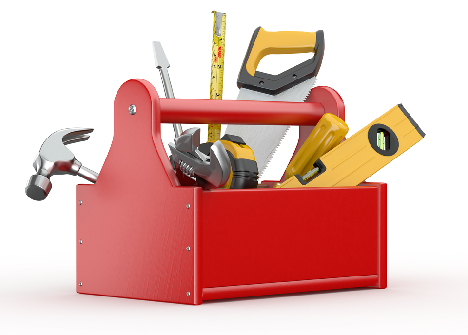 Caja de herramientas un hogar con mucho oficio - Caja con herramientas ...